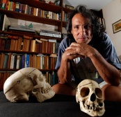 A portrait of an anthropologist. Photo by David Gard/The Star-Ledger