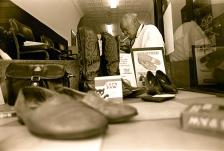 Jackson, the New Brunswick shoe shine man.